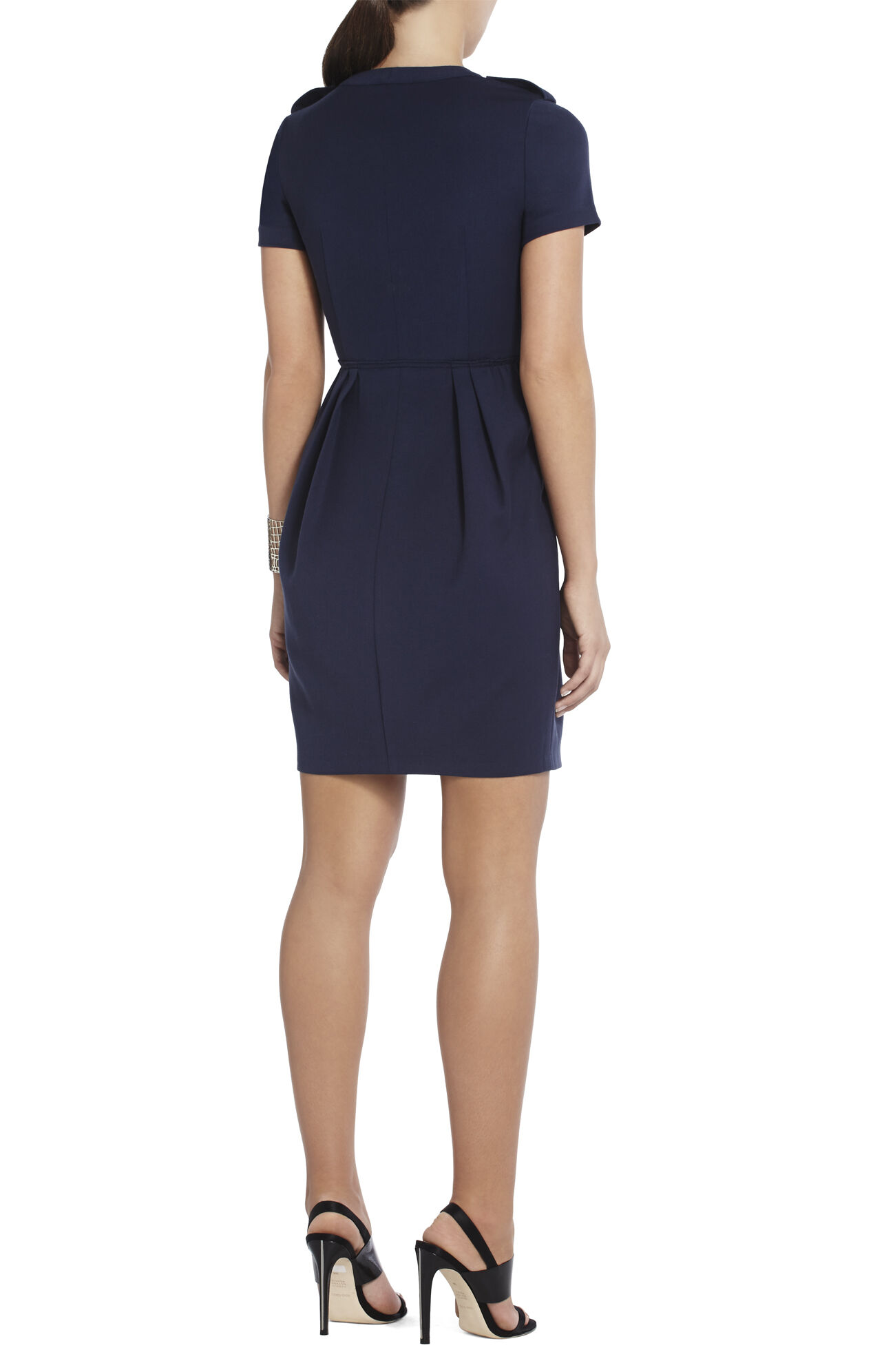 Kammy Pleated Sheath Dress
