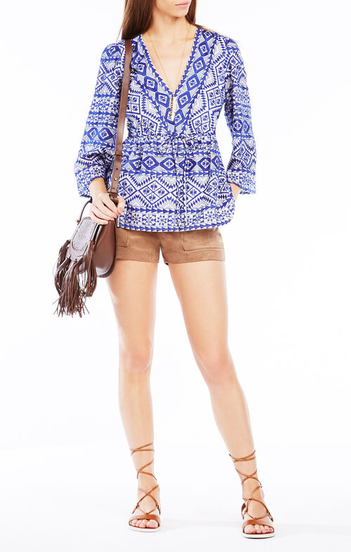 Covina Embroidered Top