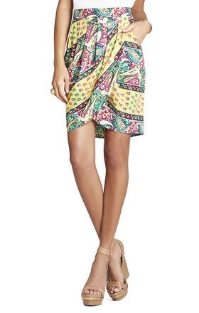 Michaela Pleated Wrap Skirt