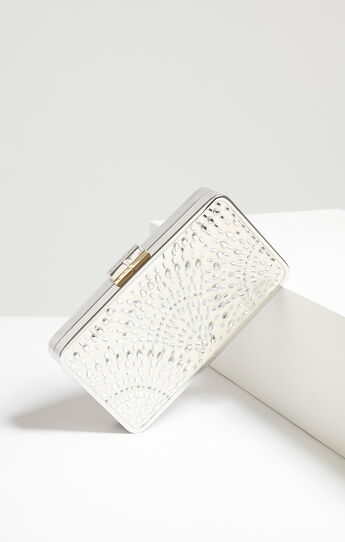 Isidora Jewel-Studded Clutch