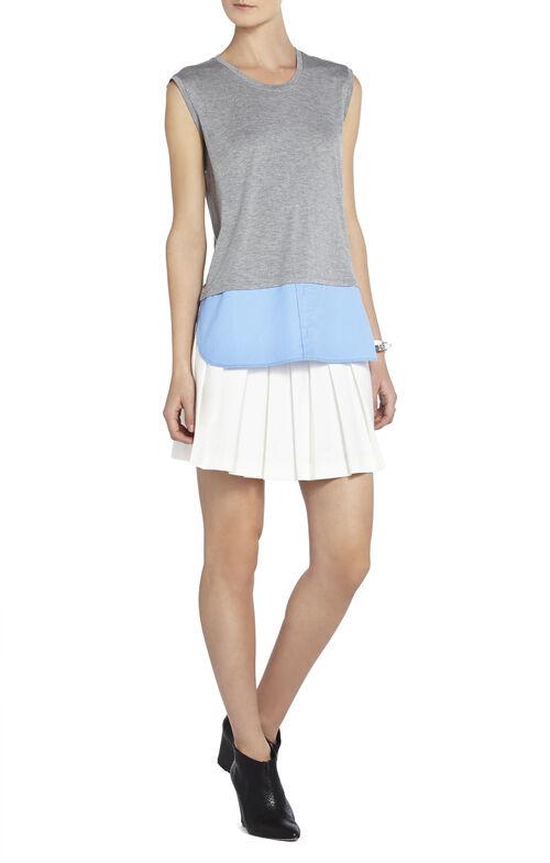 Durian Sleeveless Shirt-Hem Top