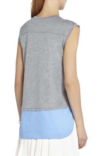 Durian Sleeveless Shirt-Hem Top