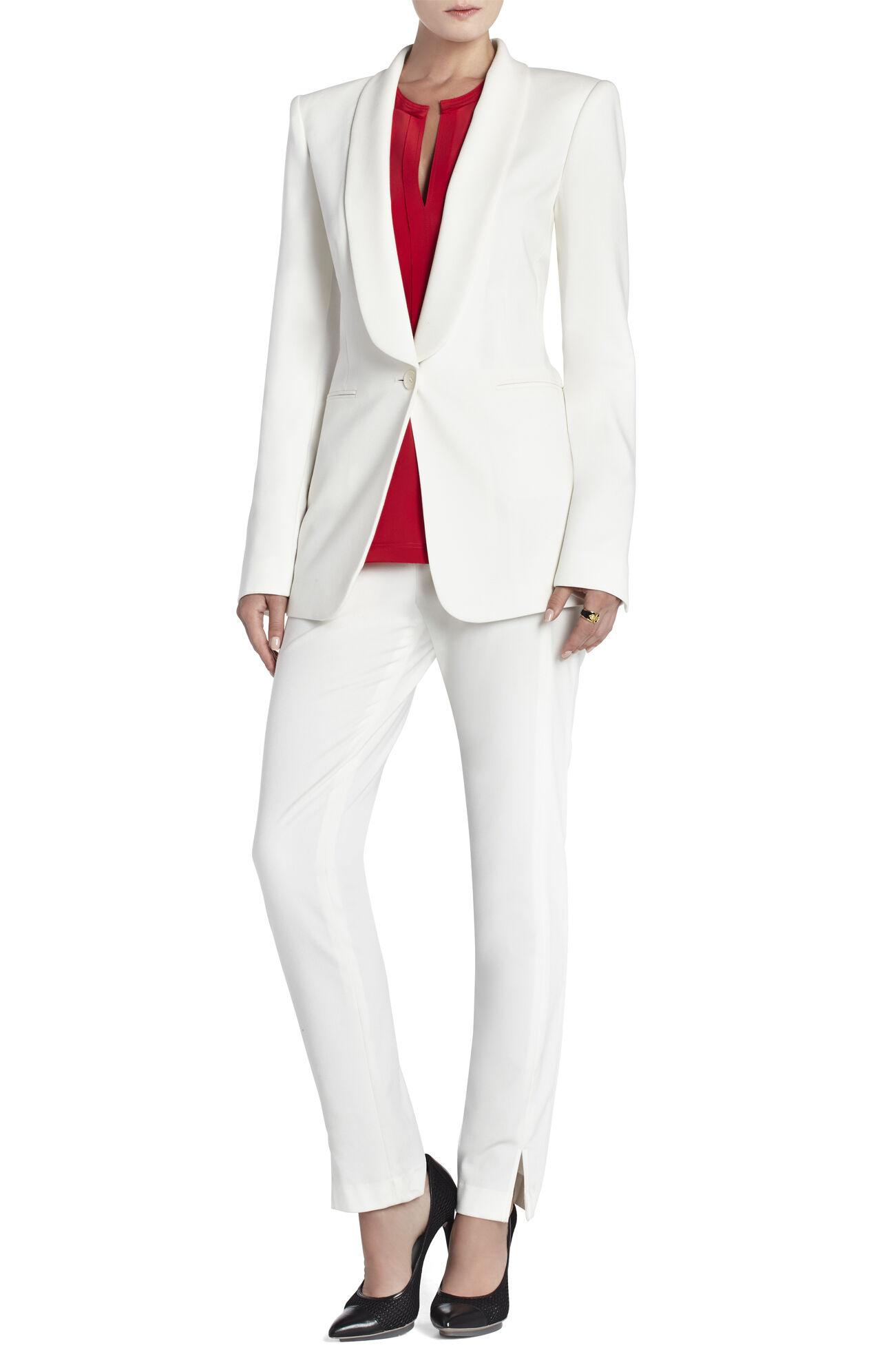 Roslin Shawl-Collar Tuxedo Jacket