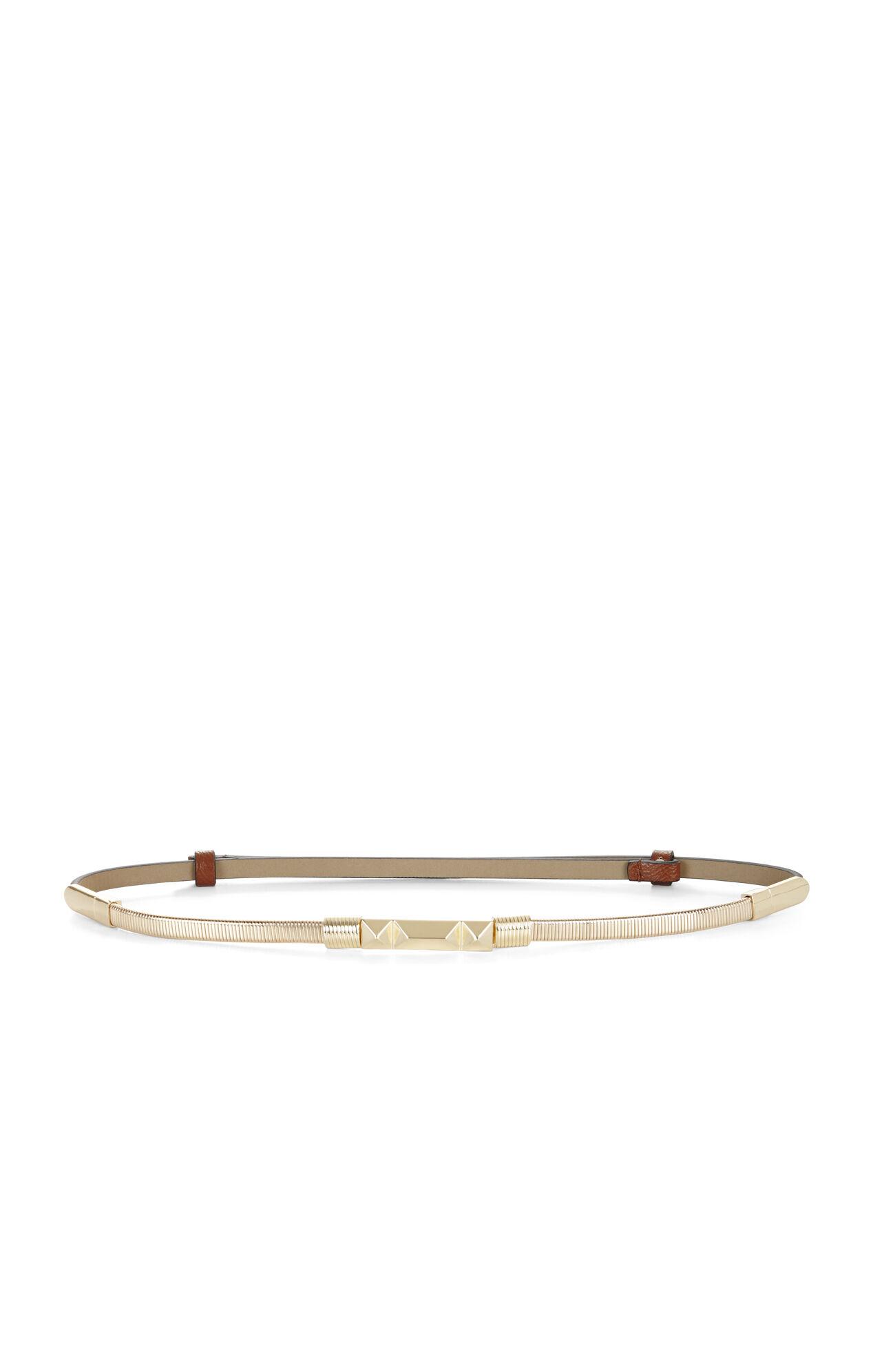 Double-Wrap Chain-Front Waist Belt