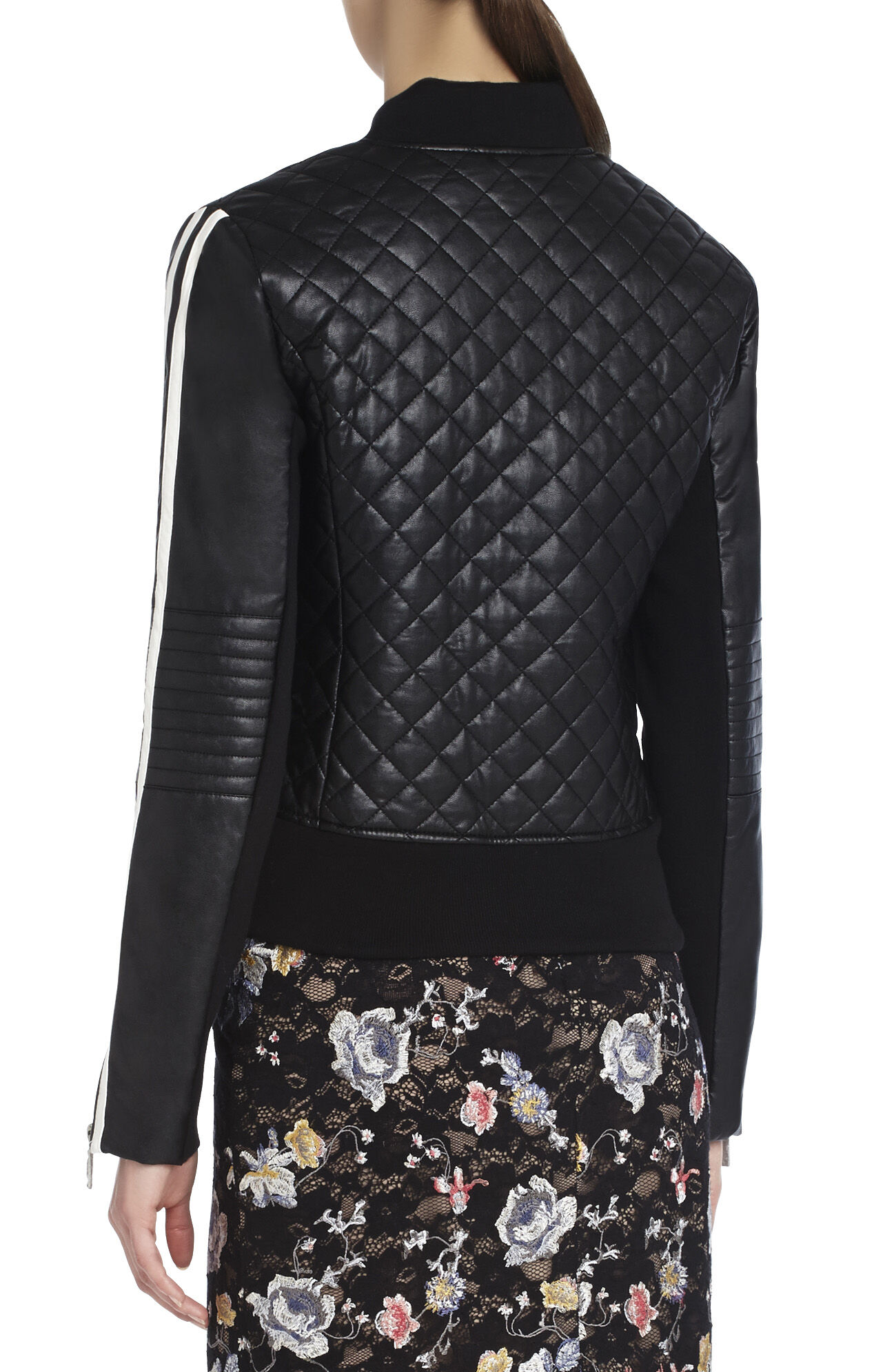Morgan Quilted Bomber Jacket