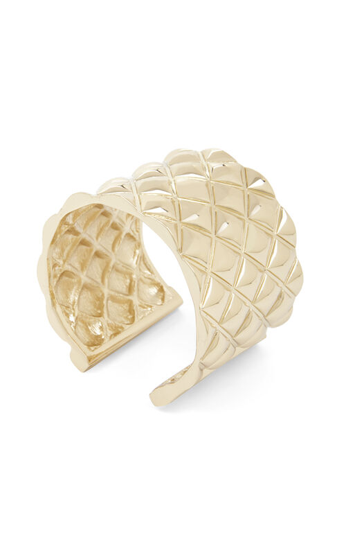Quilted Metal Cuff