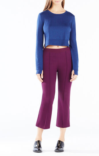 Mireille Wool Crop Top