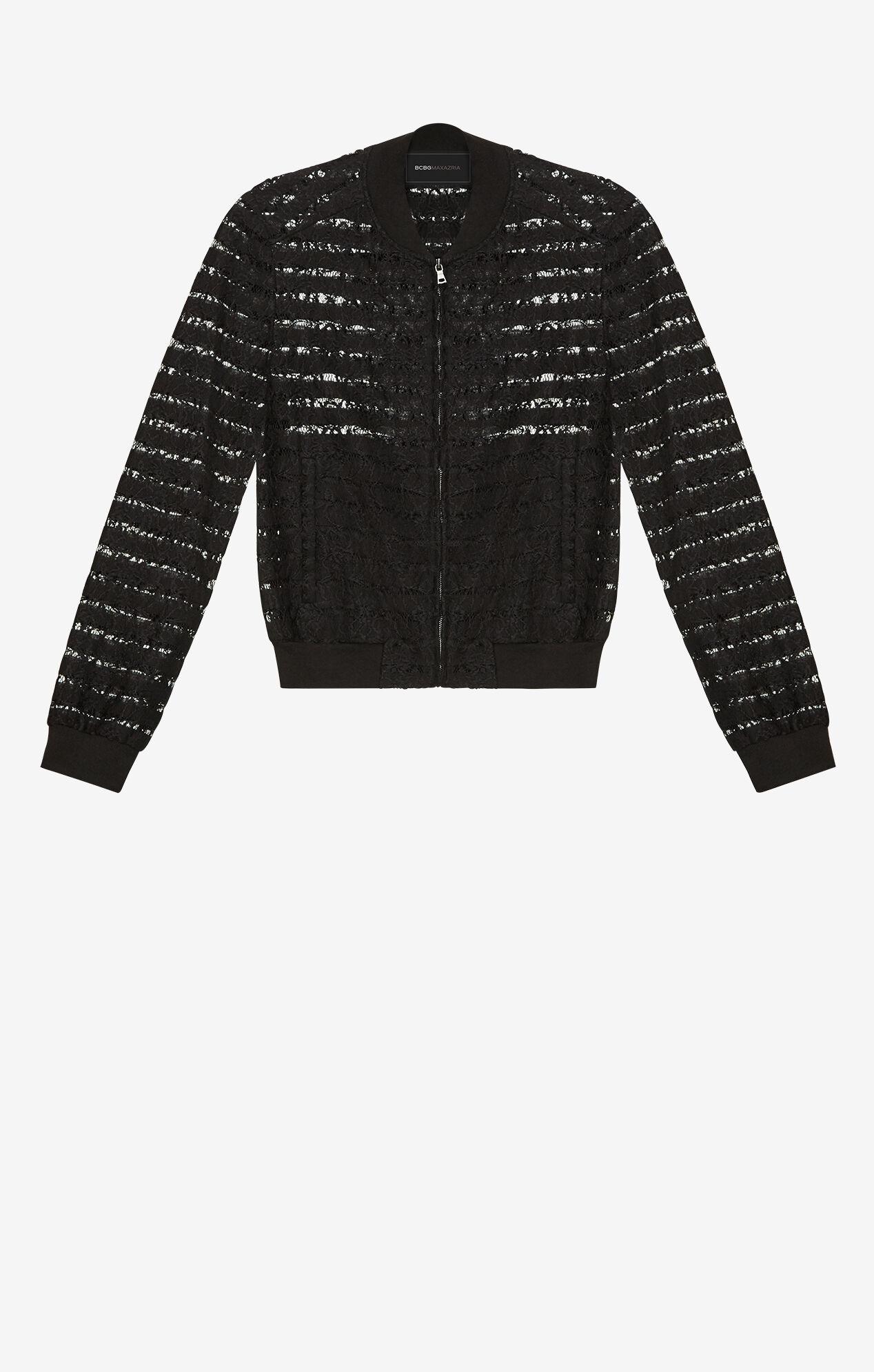 Kasen Lace Bomber Jacket