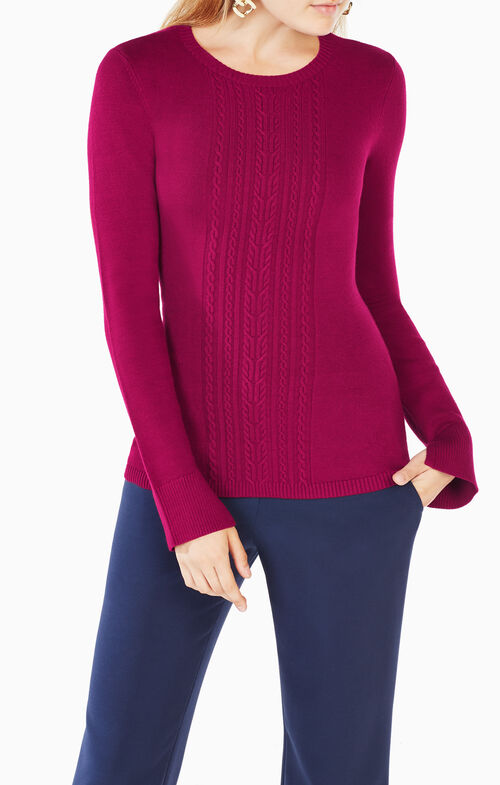 Marinah Cable-Knit Sweater