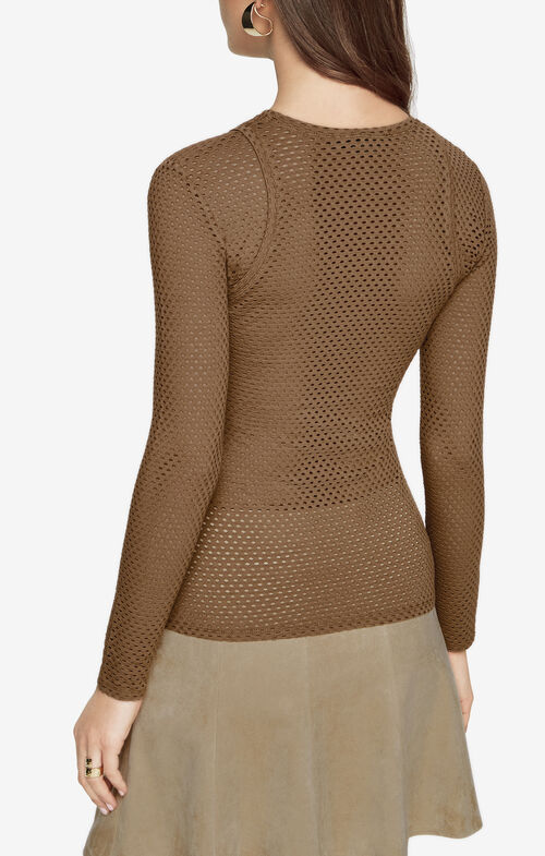 Mercy Cutout Mesh Top