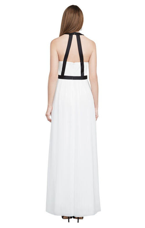 Tacarra Color-Blocked Gown