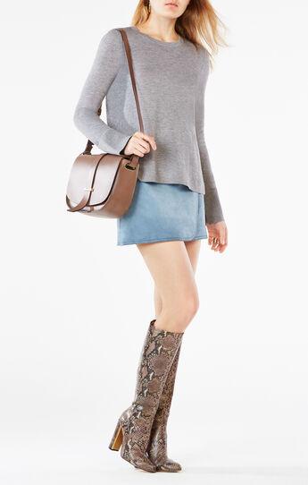 Scarlett Split-Back Sweater