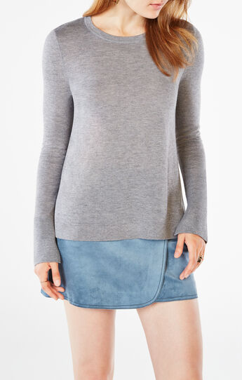 Scarlett Split-Back Sweater