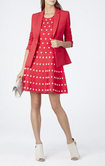 Jo Jacquard A-line Dress
