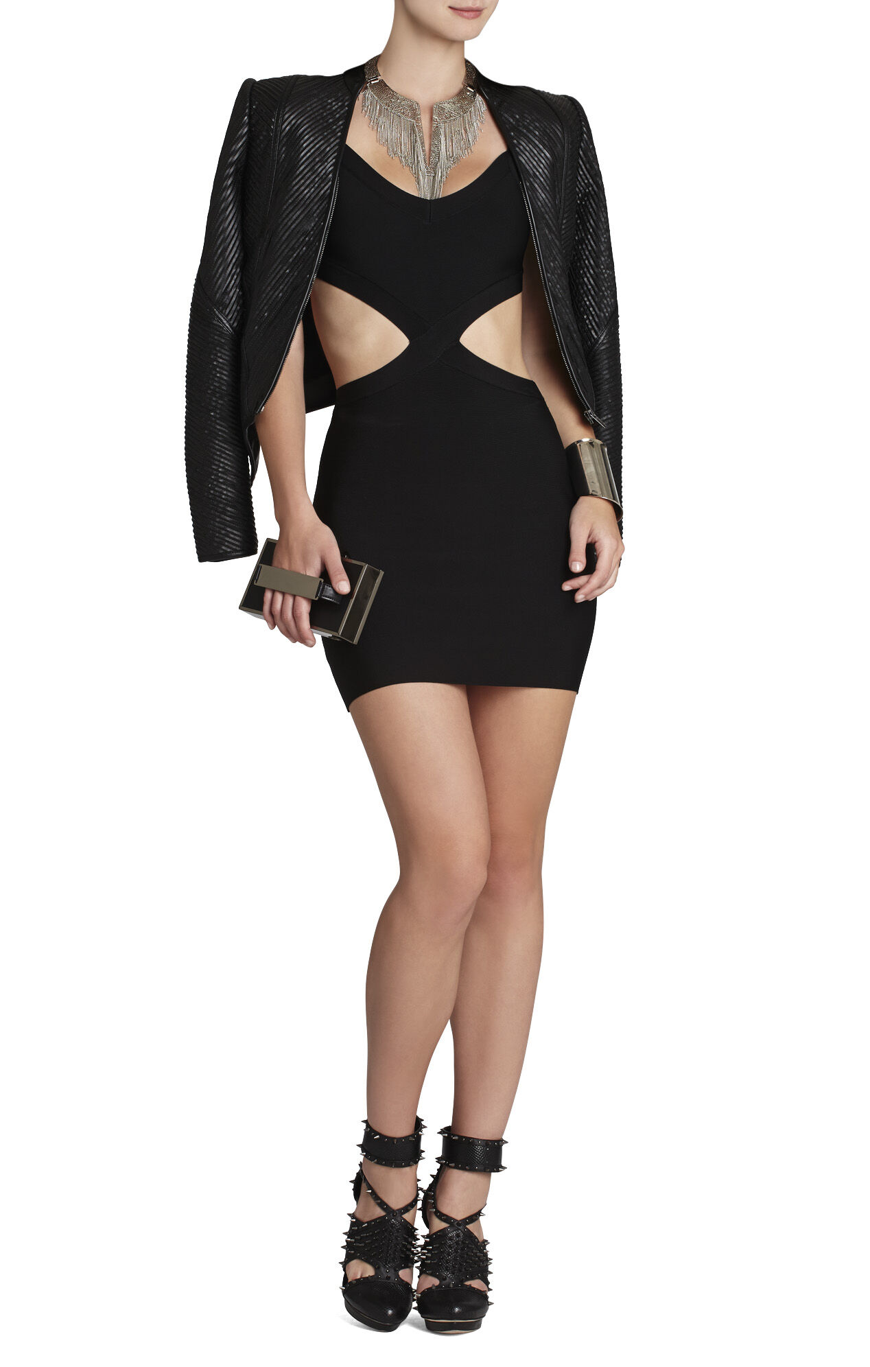 Elia Crossed Cutout Dress