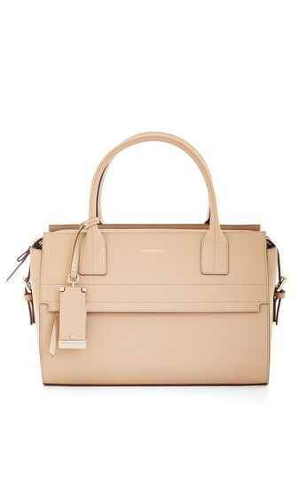 Heidi Medium Leather Satchel