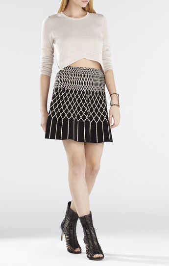 Renea Cropped Sweater Top
