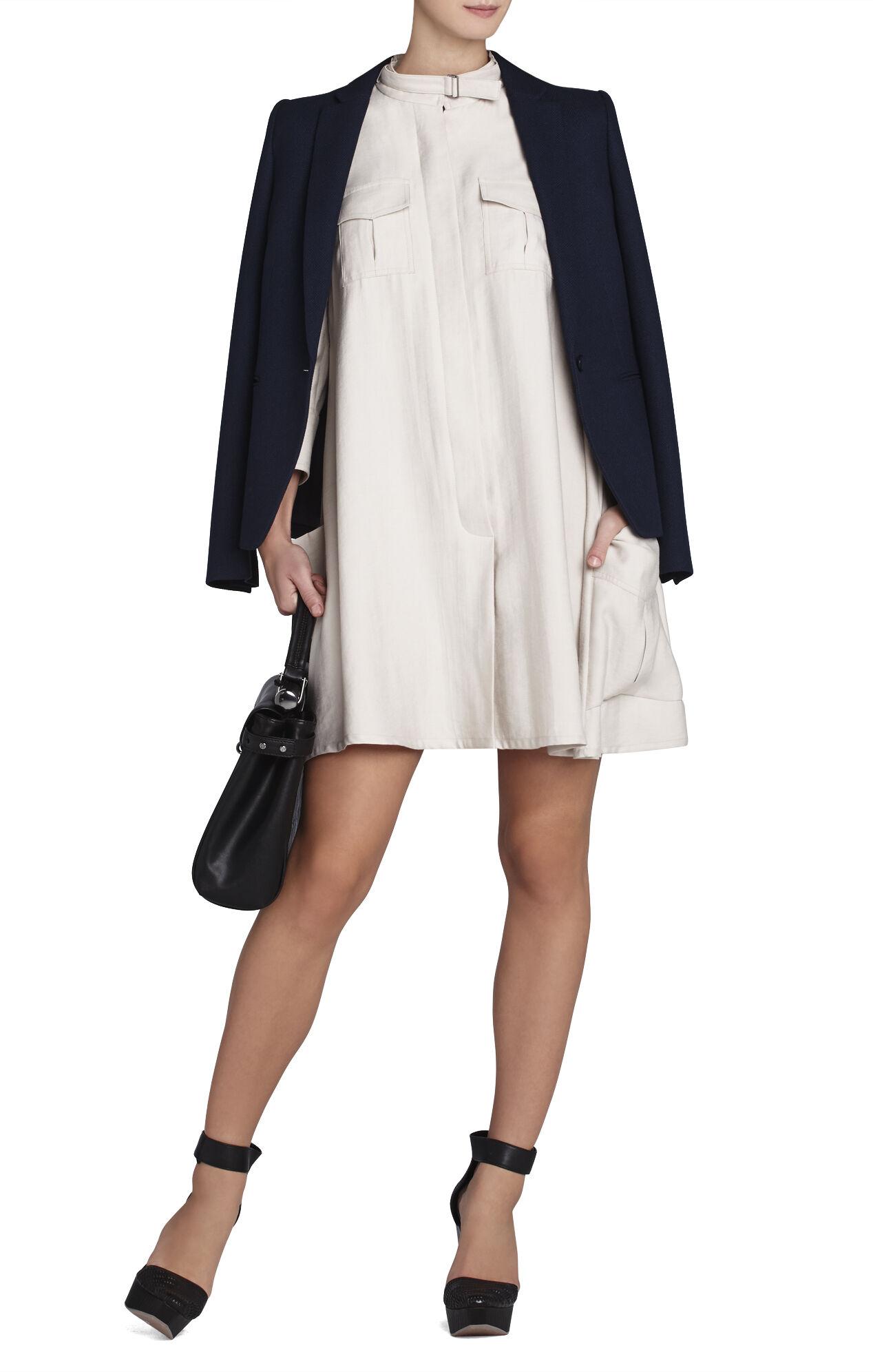 Emilee Cargo-Pocket Shirt Dress