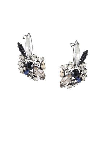 Multicolor Floral Earrings