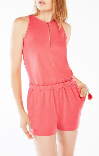 Andy Keyhole Jersey Romper