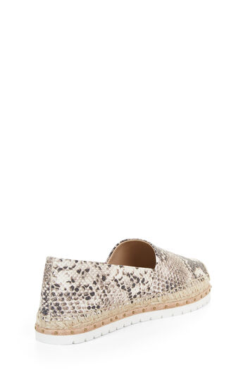Lynda Roccia Leather Espadrille