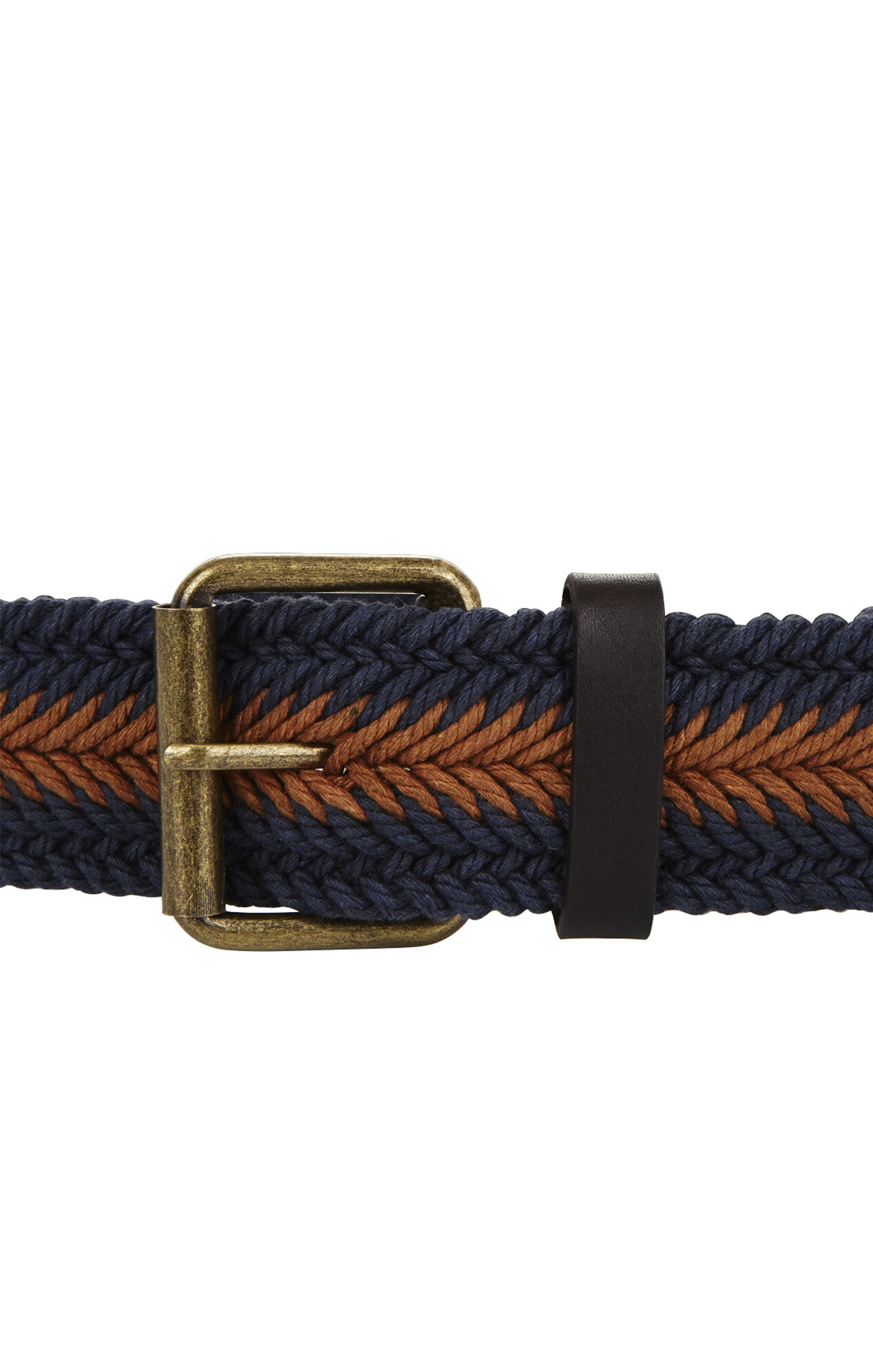 Braided-Cord Waist Belt