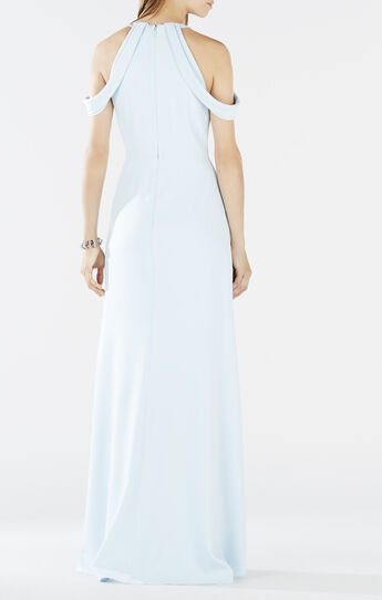 Kathya Draped Cutout Gown