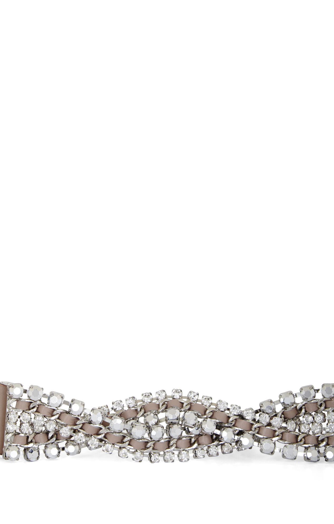 Braided Stone Waist Belt