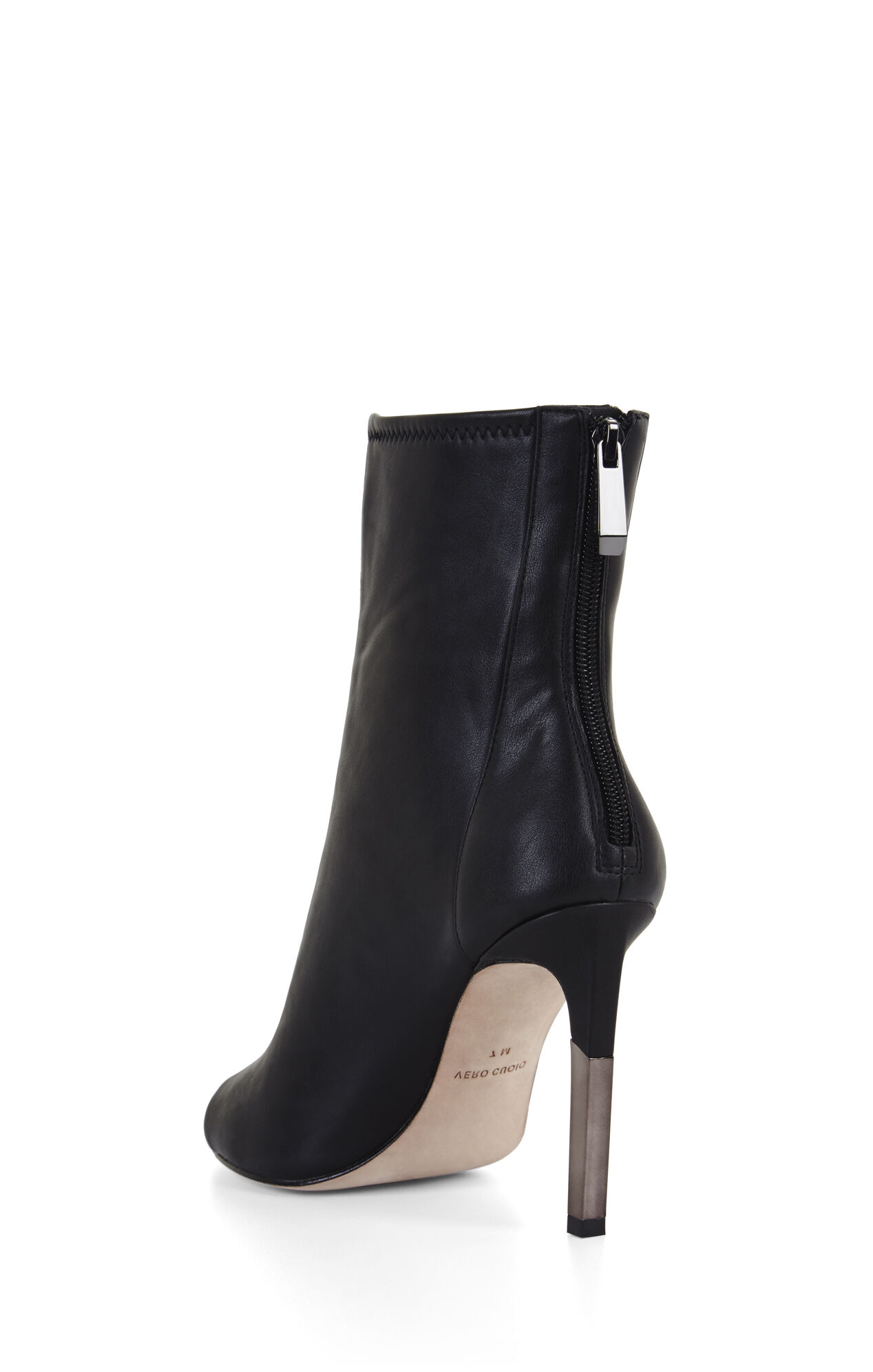 Jase Peep-Toe Zip-Up Bootie