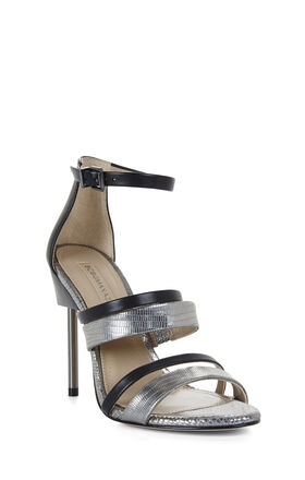 Deanna High-Heel Architectural Sandal