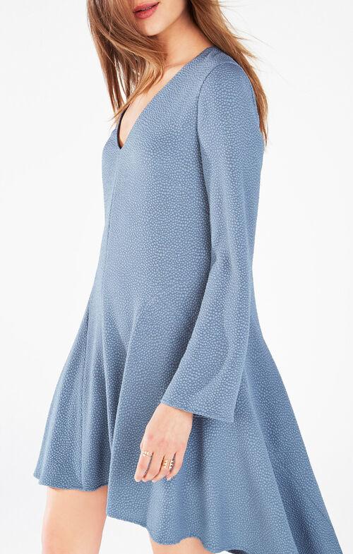 Robyn Long-Sleeve Asymmetrical Dress