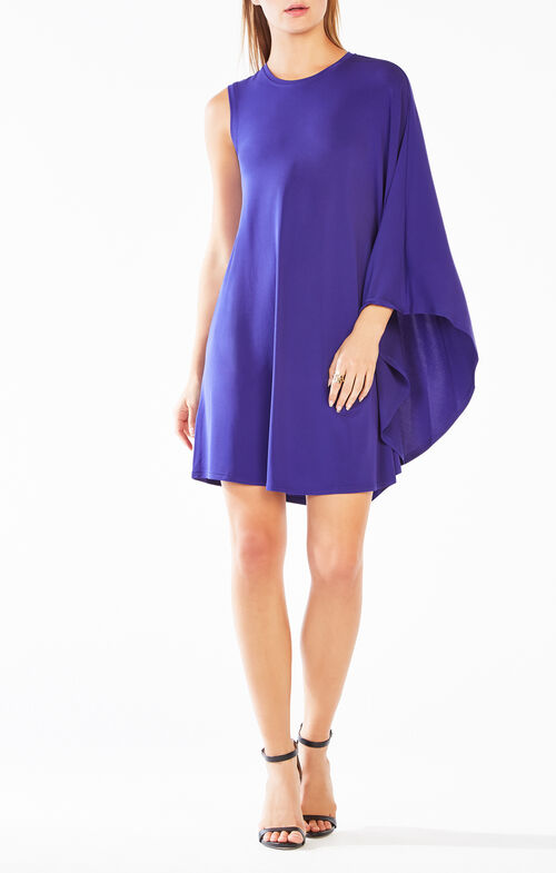 Kathie One-Shoulder Jersey Dress