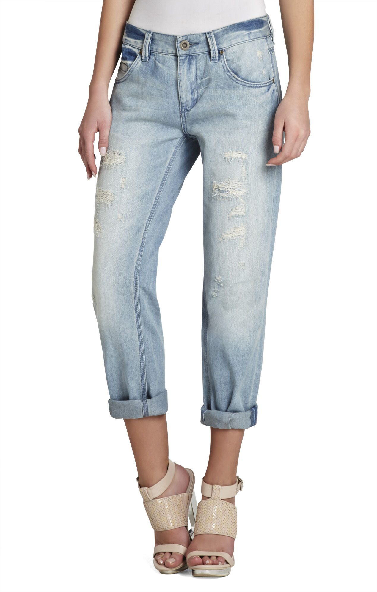 Billie Cropped Boyfriend Denim Pant