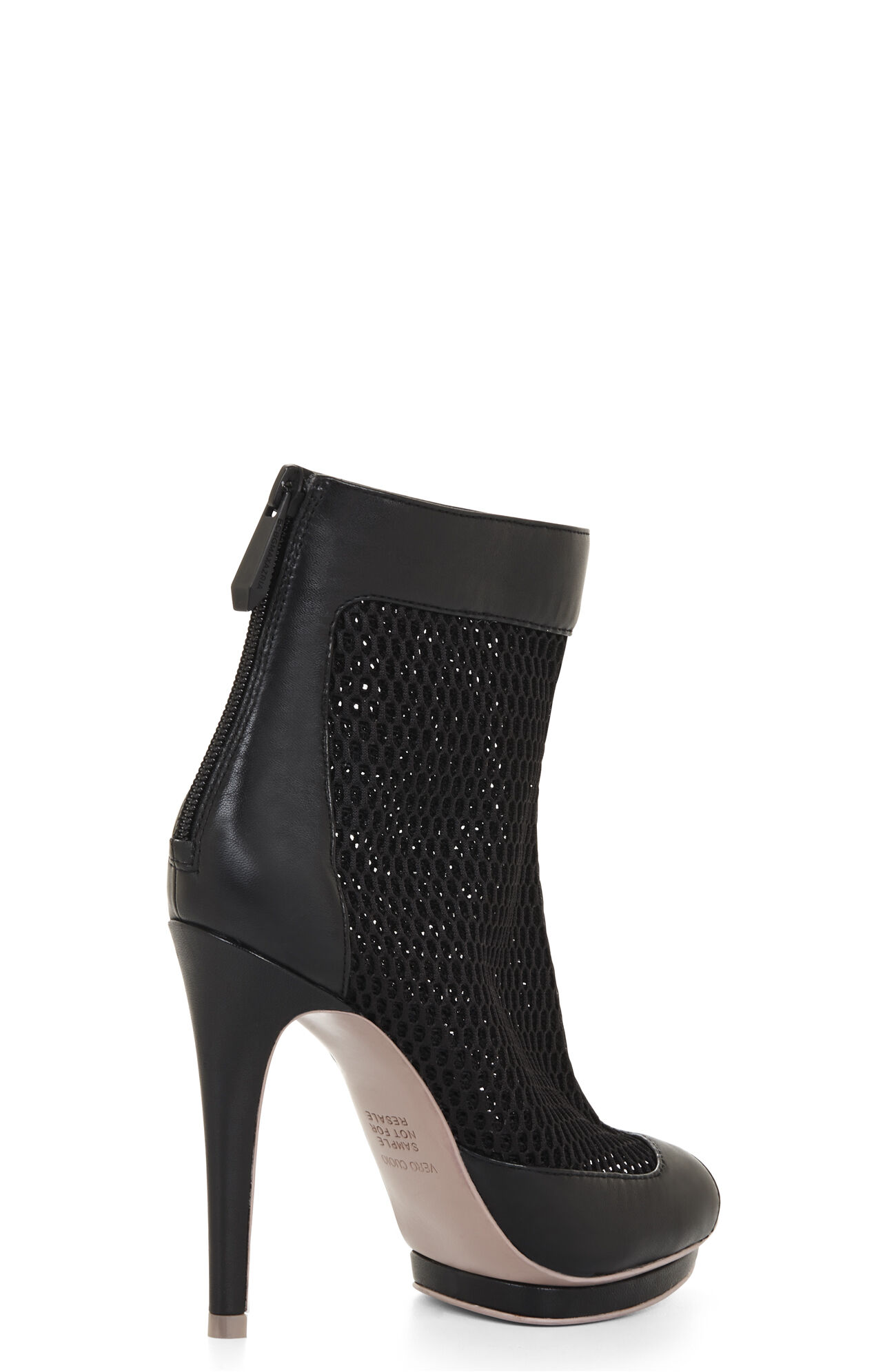 Ginni High-Heel Thick Mesh Bootie