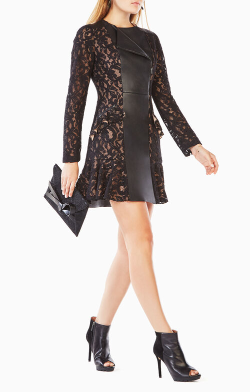 Briony Scroll Lace Dress