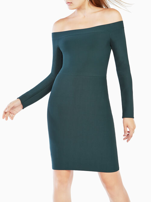 Annabeth Off-The-Shoulder Dress