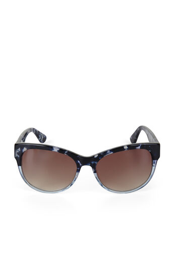 Faded Round Sunglasses