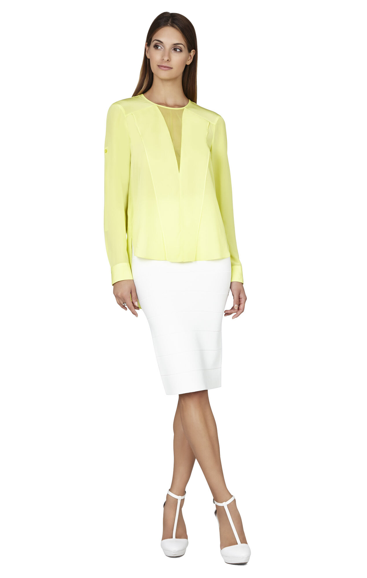 Marrisa Draped-Front Blouse
