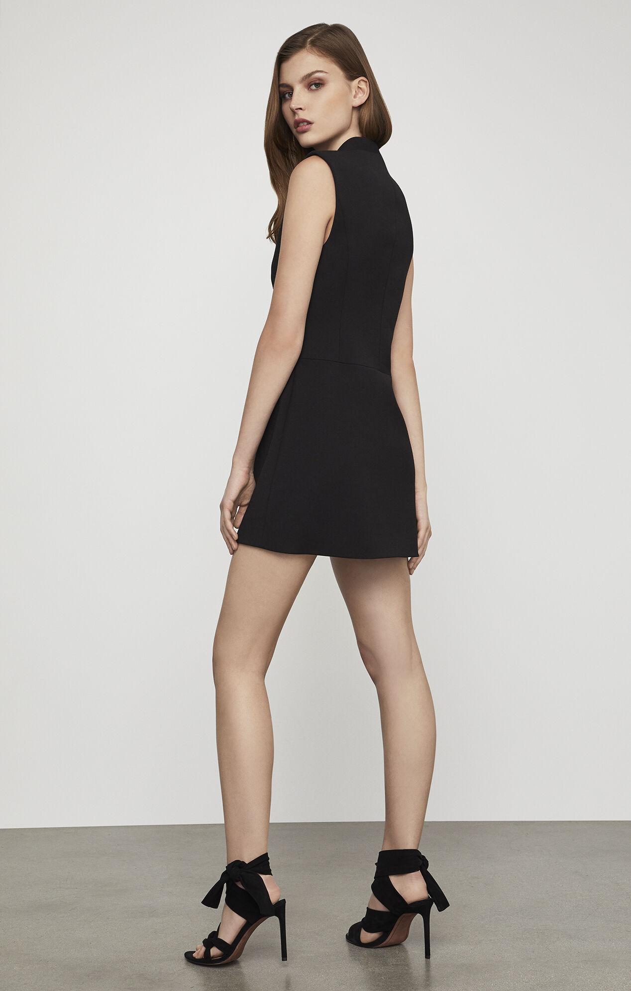 Caryn Wrap Vest Dress