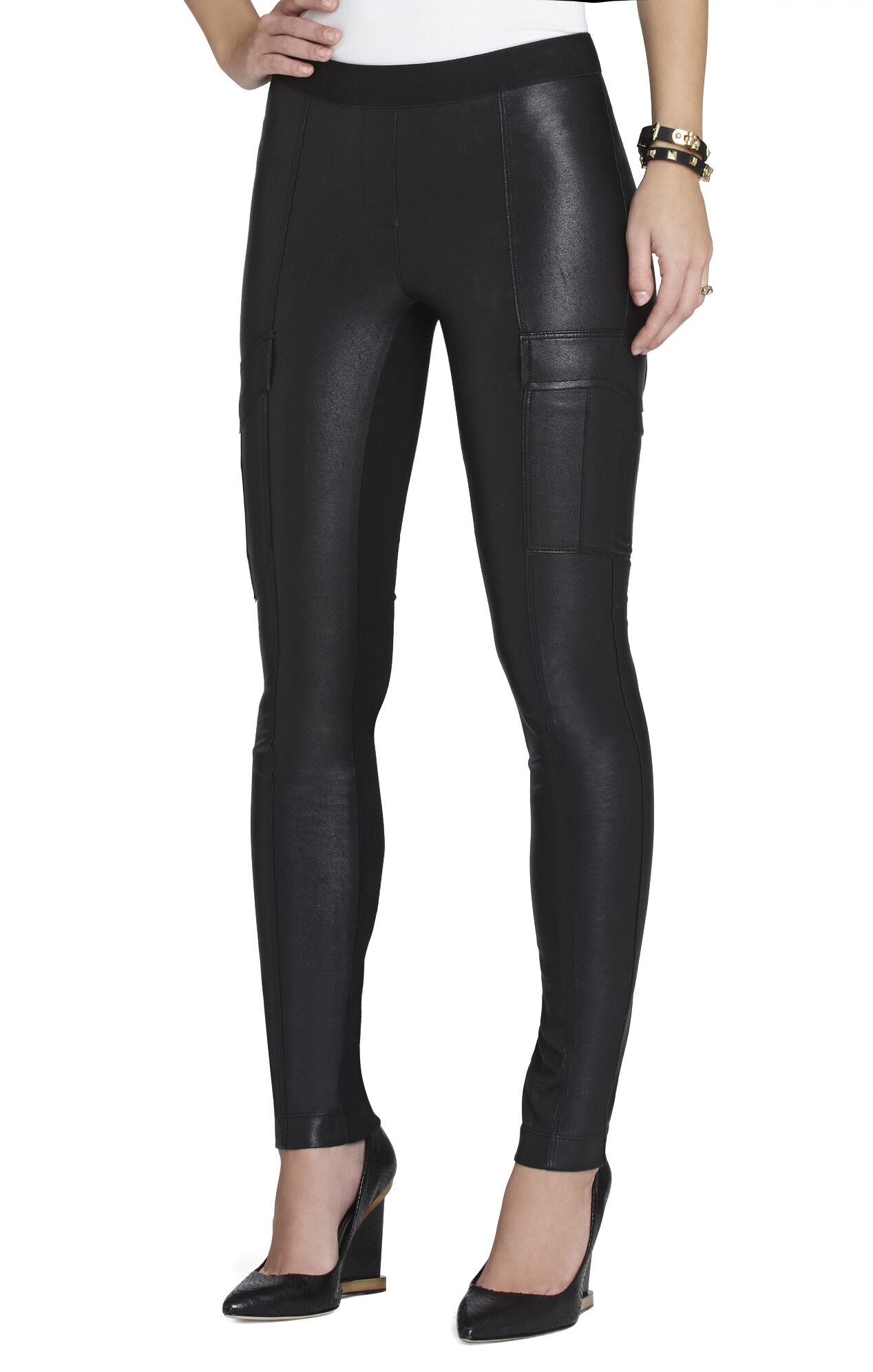 Wilcox Pleather Legging