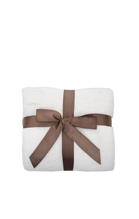 Dreamie Blanket With Leatherette Edge