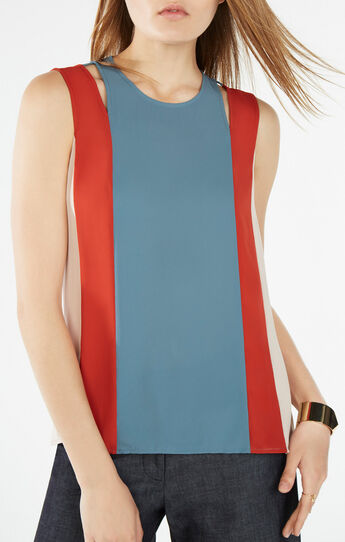 Cailin Color-Blocked Tank Top