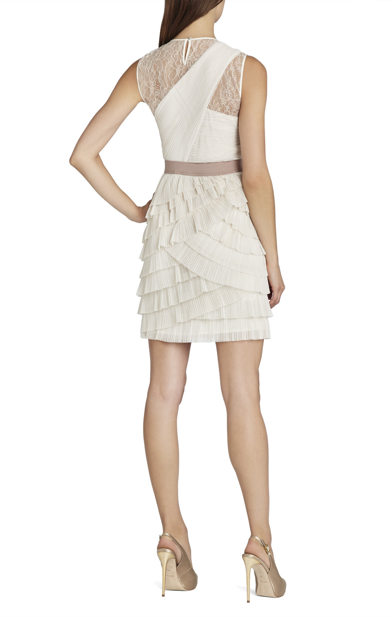 Jaya Pleated Sleeveless Dress