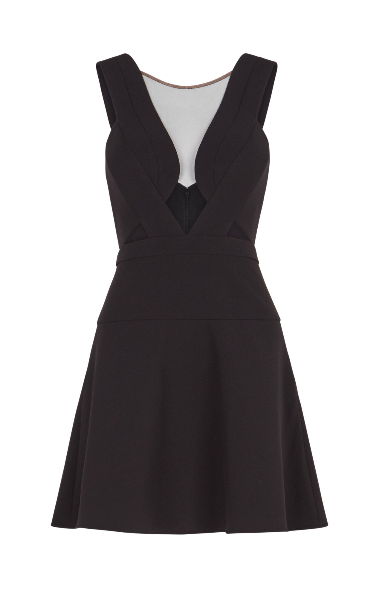 Britney Open-Back Dress