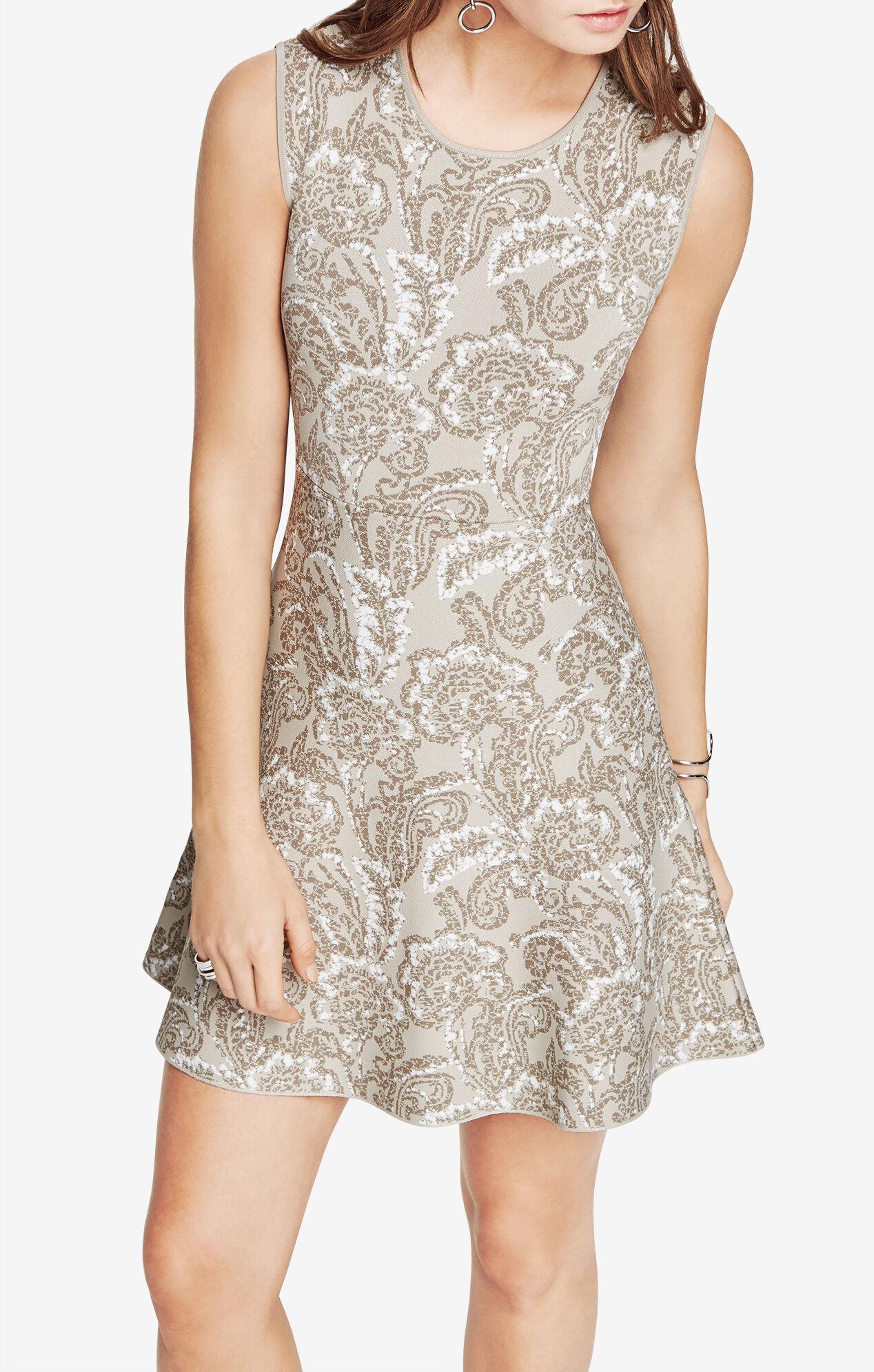 Alix Floral Jacquard Dress