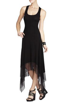 Akris Asymmetrical-Hem Tank Dress
