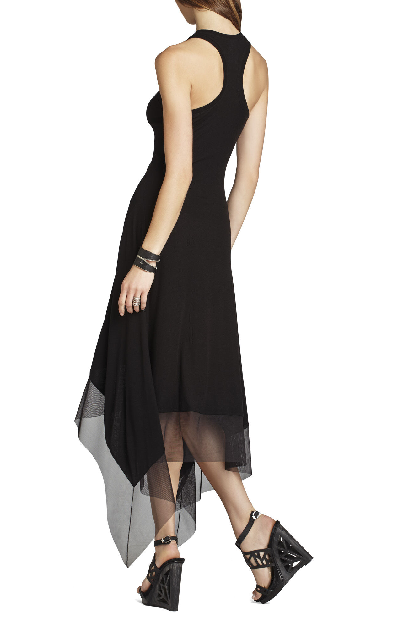 Akris Asymmetrical-Hem Tank Dress