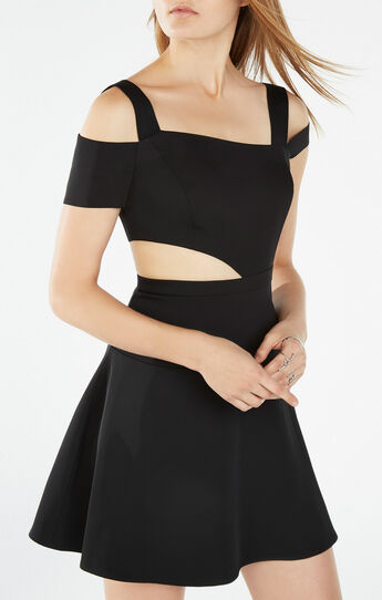 Kiki Cutout Asymmetrical Dress