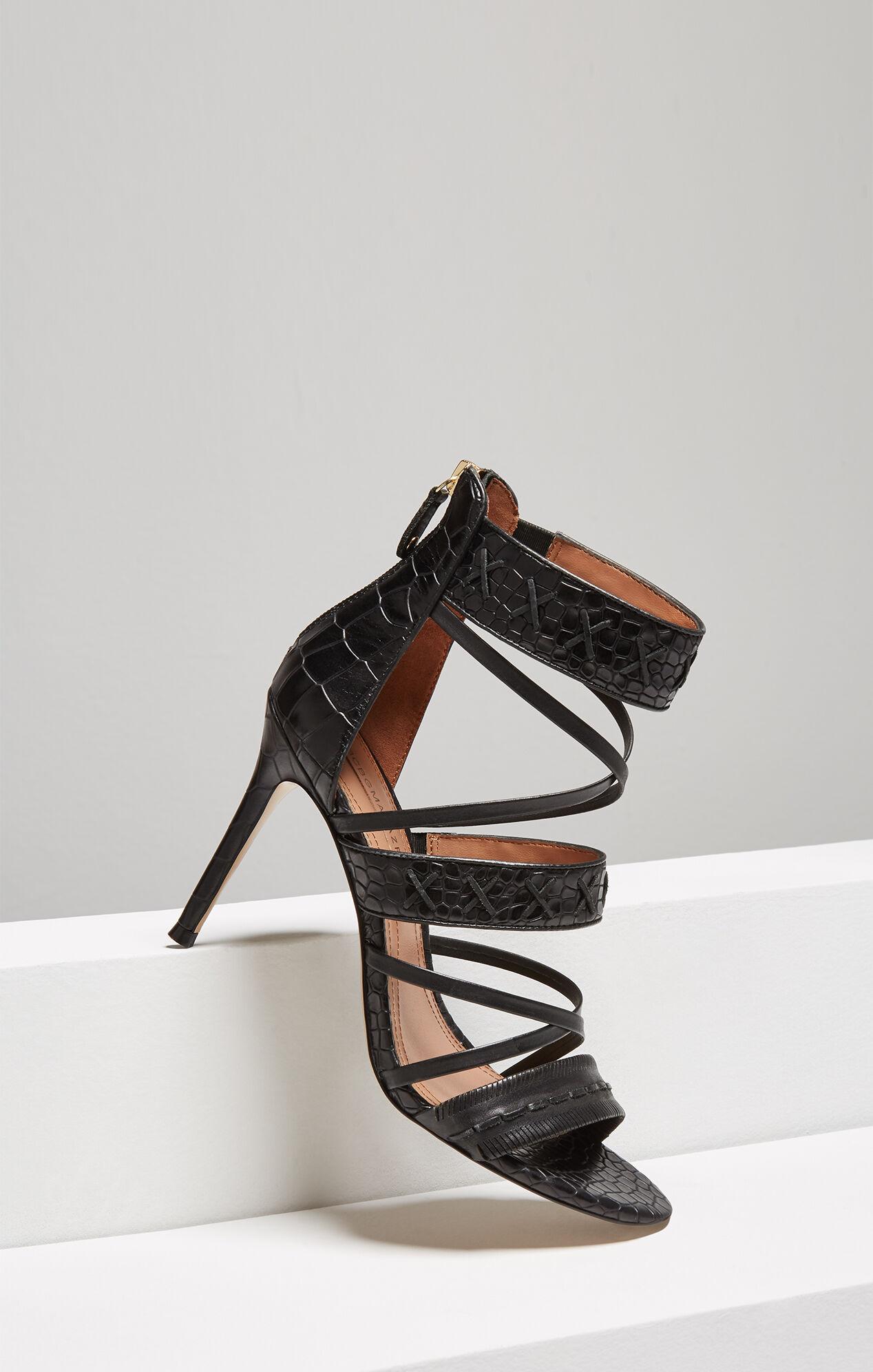 Sylvana Embossed Leather Sandal