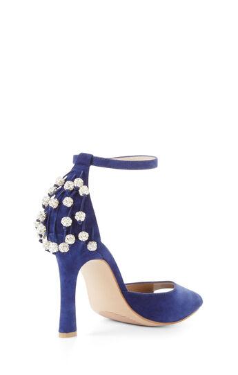 Adelina High-Heel Suede Sandal